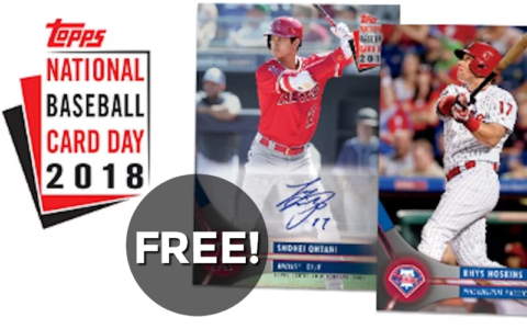 F R E E Pack Of Baseball Cards Today Only 811 How To