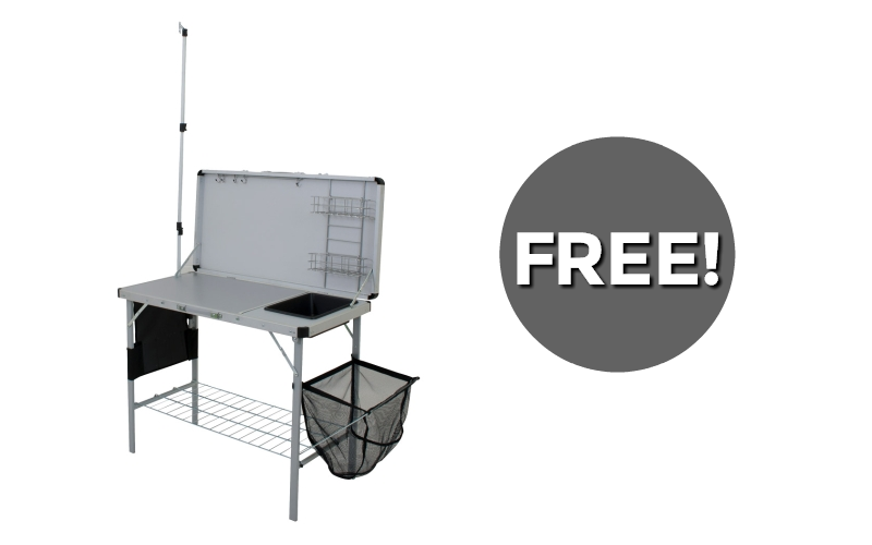 F R E E Deluxe Camp Kitchen~ 3 Days Only!