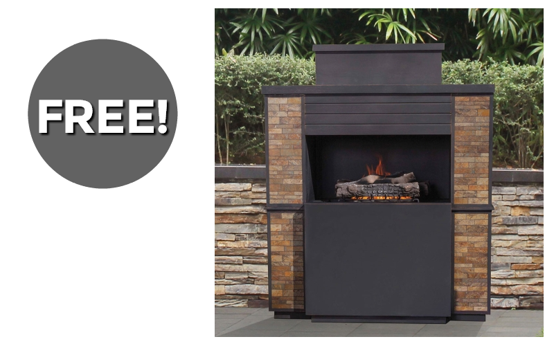 #FREE Outdoor Fireplace~ 3 Days Only!