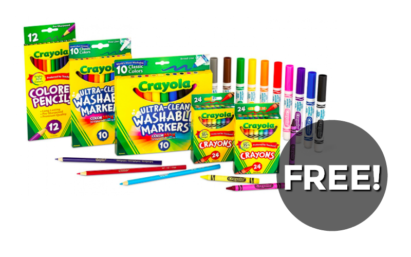 FREE $10 worth of Crayola Products~ RUN!!