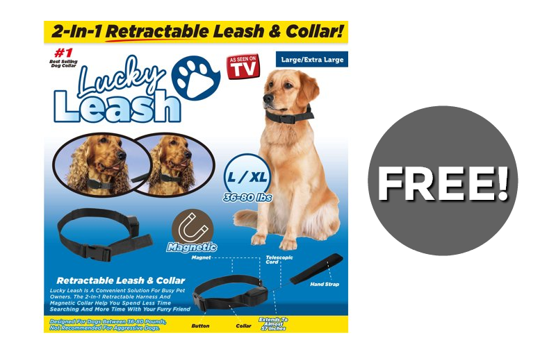 "F-R-E-E ""Lucky Leash"" for your Furbaby!! (thru 9/16)"