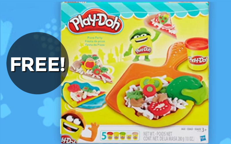#FREE Play-Doh Pizza Party Set!