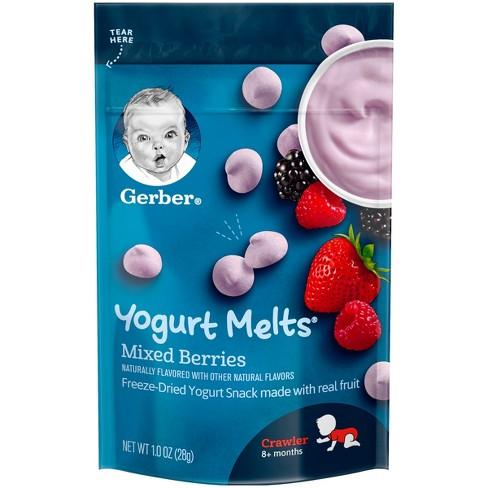 Gerber Yogurt Melts for your babies!!