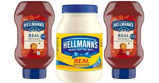 Hellmann's Mayo and Ketchup MM!