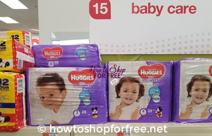 Nice Price for Huggies Diapers at CVS!