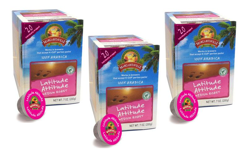 Margaritaville K-Cups 20¢ each! WOW!