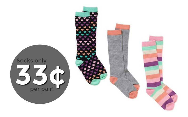 WOWZA~ Stock Up on 33¢ Socks!! (3 days only)