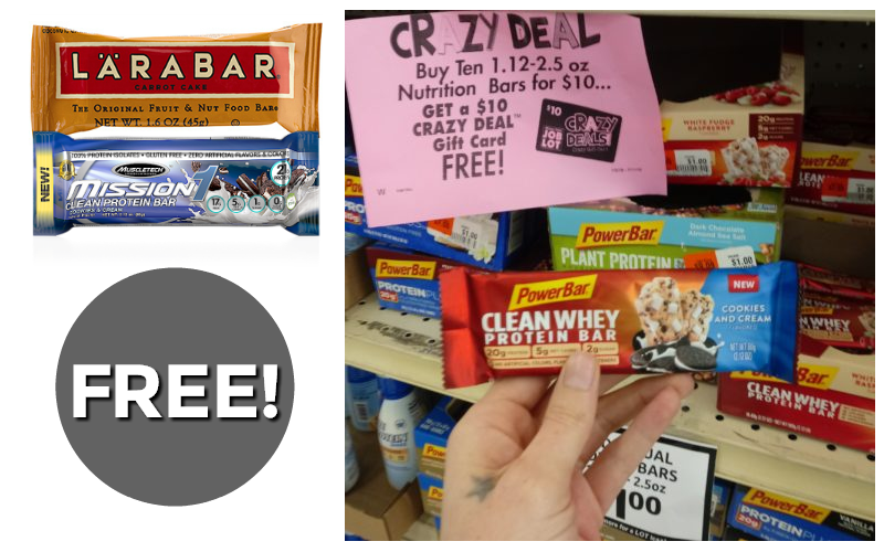 #FREE Protein Bars~ Perfect for Prep Kits!!