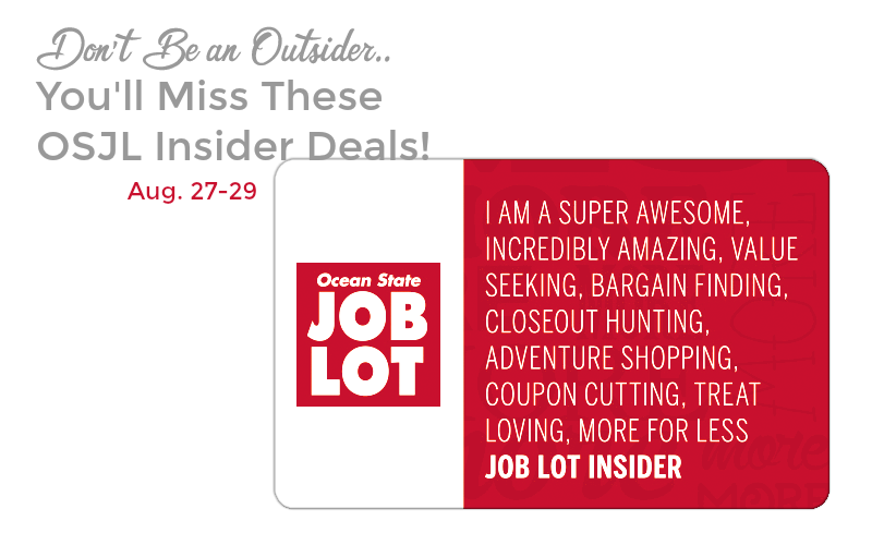 OSJL Insiders~ Check out NEW Exclusives! (8/27-29)
