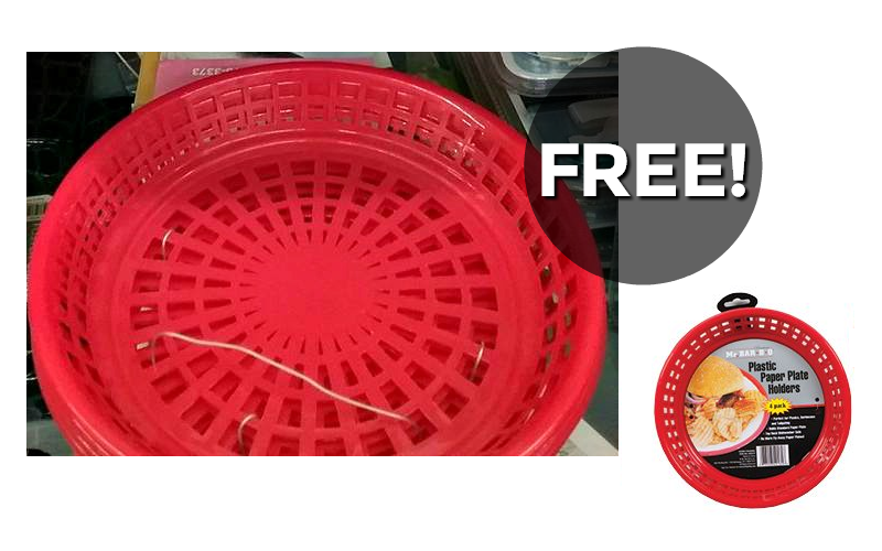 FREE Plate Holders! Perfect for Parties!
