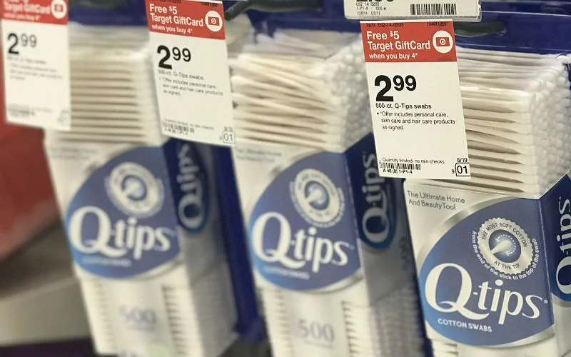 $1.74 Q-Tips (500ct) NO Coupons Needed!