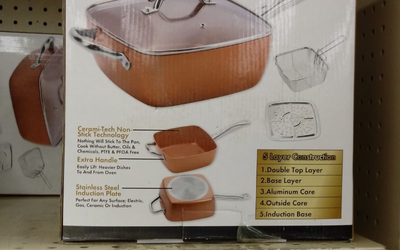 Copper Cookware for $9.99?! WOW, GREAT GIFT!!