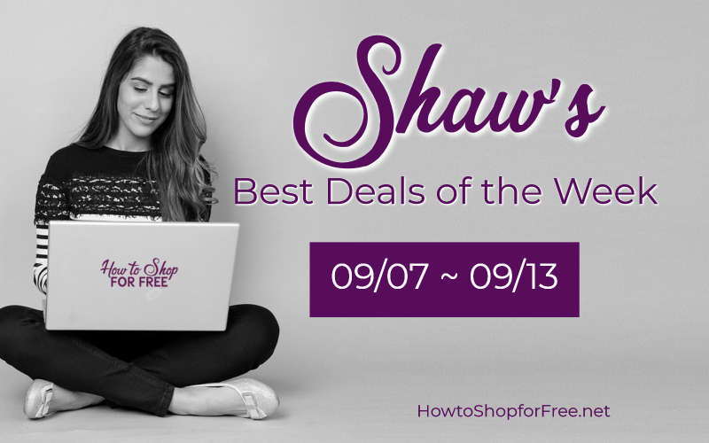 Best Deals of the Week at Shaw's Starting Friday 09/07
