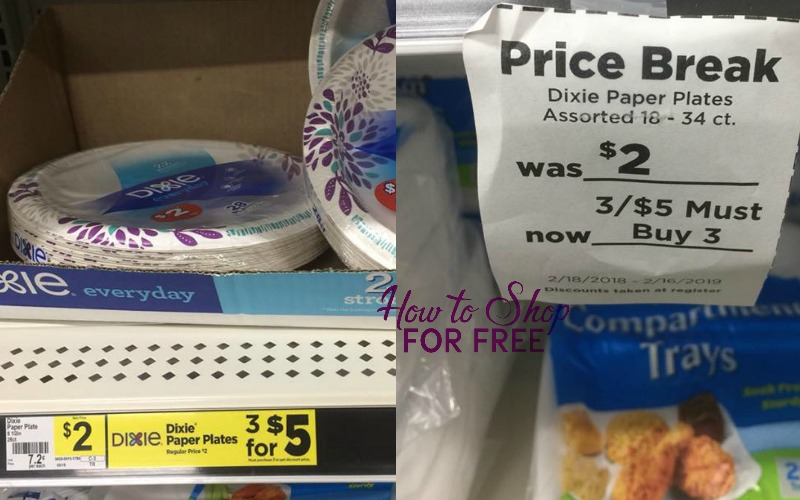 Dixie Paper Plates Only $.58!!