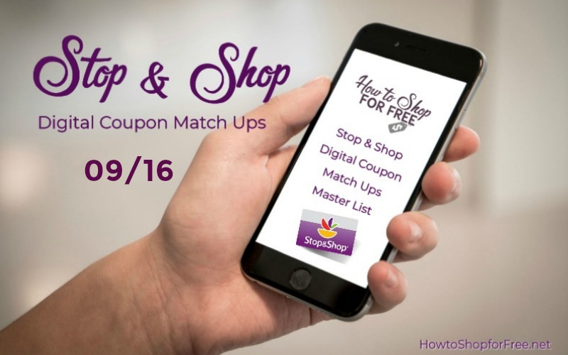 **11** NEW Load to Card Offers at Stop & Shop 09/16