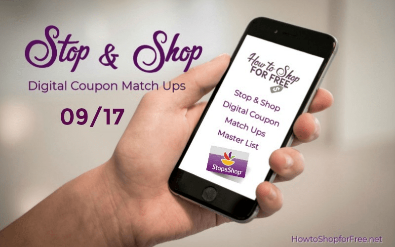 **2** NEW Load to Card Offers at Stop & Shop 09/17