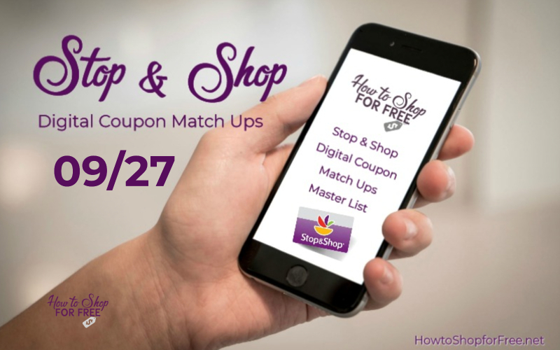 **13** Load to Card Offers at Stop & Shop 09/27