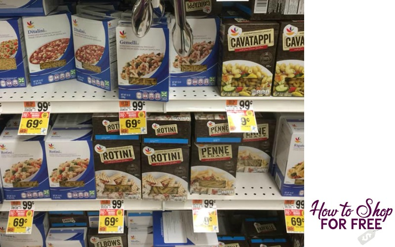 Stop & Shop Brand Pasta Only $.69!