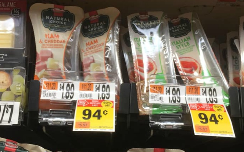 Hormel Natural Choice Snacks Only $.94!