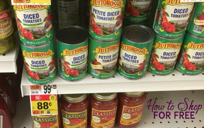 Tuttorosso Canned Tomato Only $.48!
