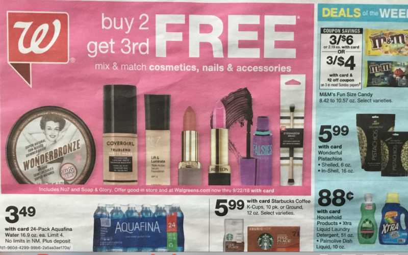 Walgreen's EARLY Ad Scan  9/16 – 9/22