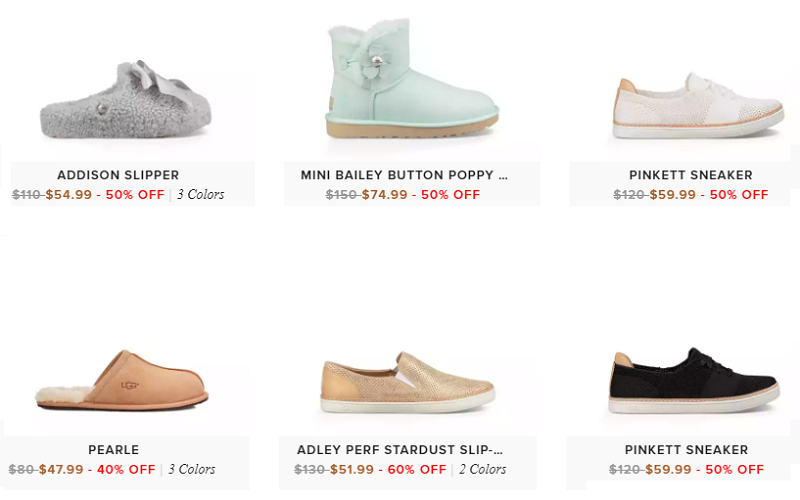Up to 60% Off UGGs Boots, Sneakers, Sandals and More!