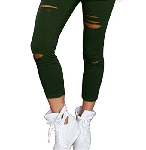 Women's High Waisted Skinny Pants Only $9.90 Shipped!