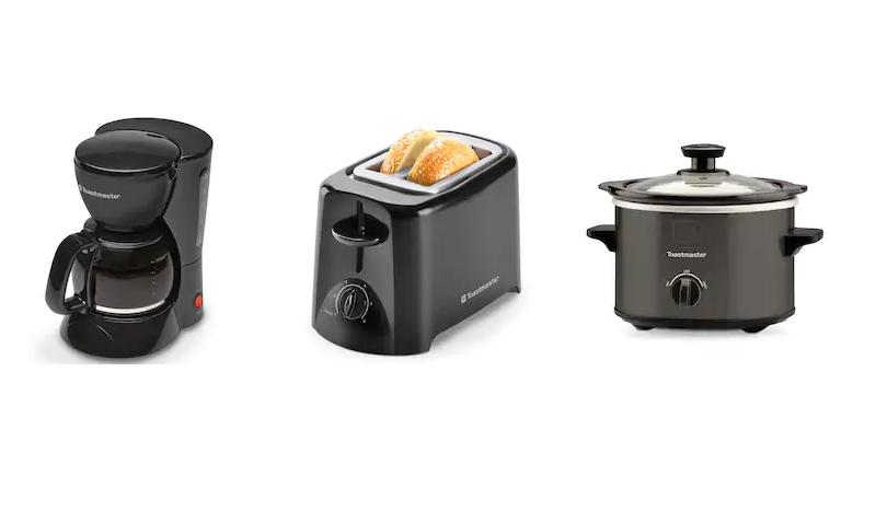 3 FREE Toastmaster Appliances + FREE In-Store Pickup!