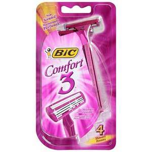 Bic Comfort for POCKET CHANGE!