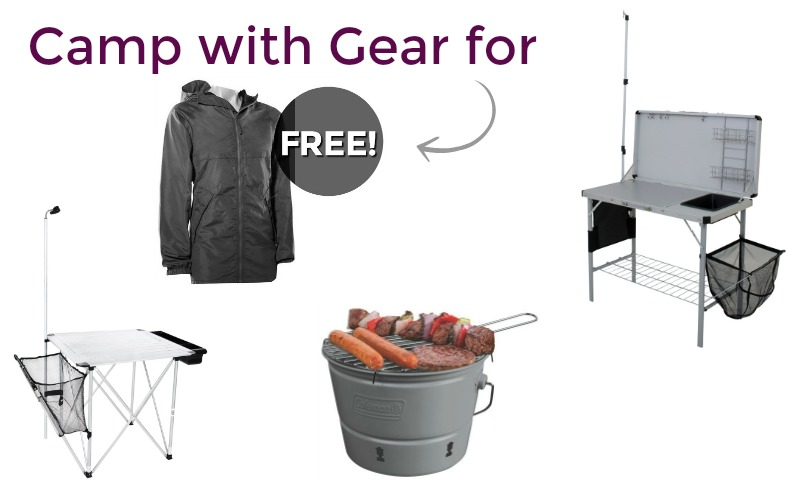 Camping Gear for FREE~ Stash for next season!
