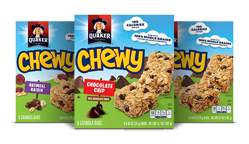 GREAT deal on Quaker Chewy Granola Bars!!