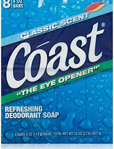 Coast soap for CHEAP!
