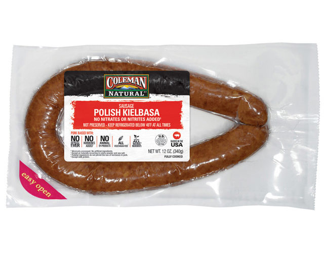 Coleman Natural Sausage for F R E E!