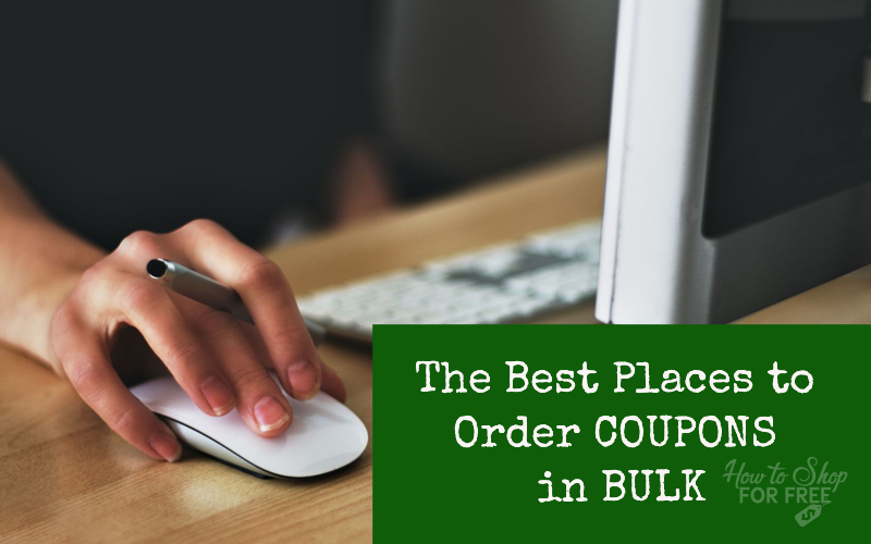The Best Places To Order Coupons In Bulk How To Shop For Free With Kathy Spencer