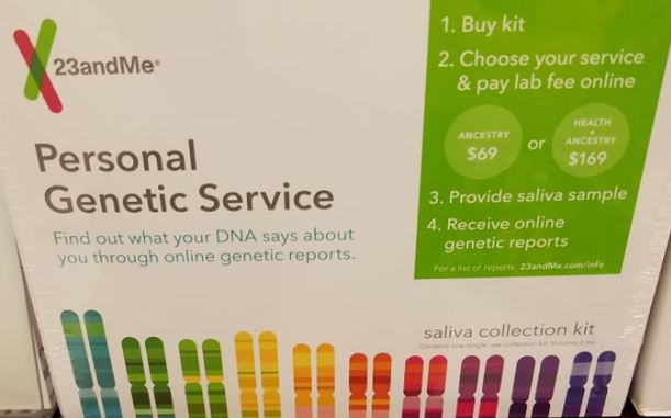23andMe Personal Genetic Service Test Kit As Low As $3.99 at Rite Aid through 12/01