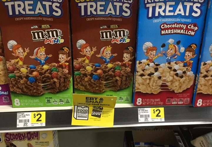 Rice Krispies Treats Only $.60!