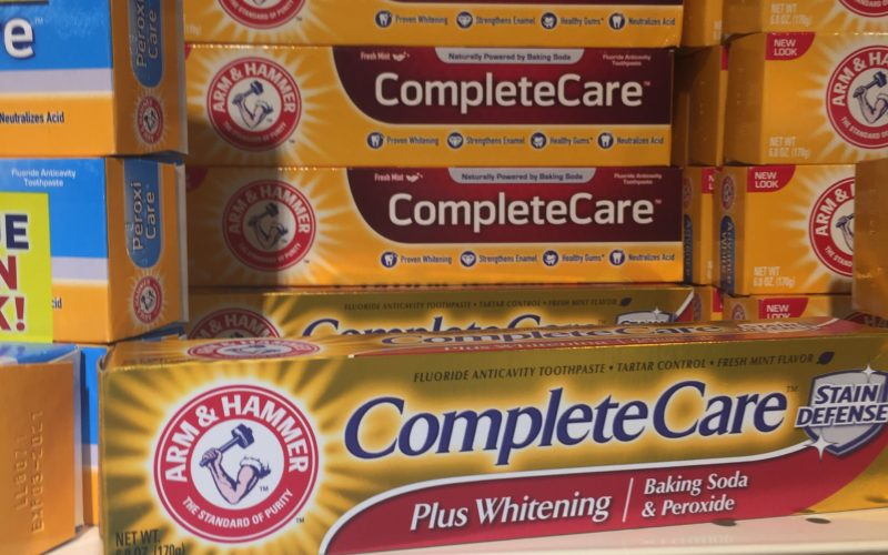 Arm and Hammer toothpaste for $.99! UPDATE* NOW F R E E