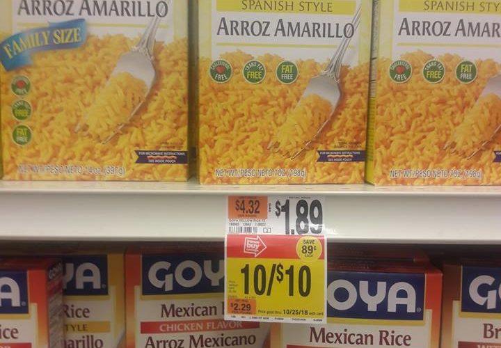 F R E E Goya Yellow Rice