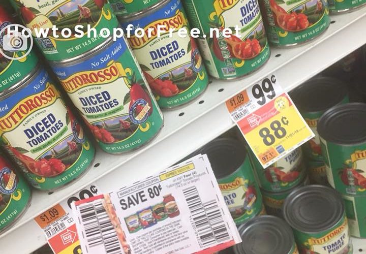 Tuttorosso Diced Canned Tomatoes Only $.48!
