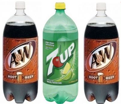 Stock Up Price on 7-up or A&W 2 Liters at Shaw's 10/19 ~ 10/25