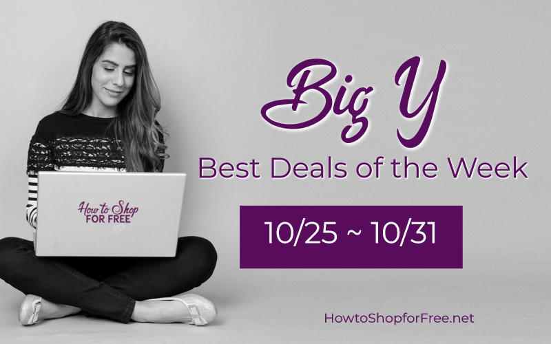Best Deals of the Week at Big Y Starting 10/25!