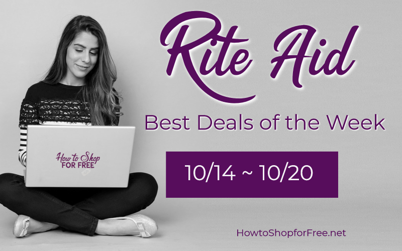 Best Deals of the Week Rite Aid Starting Sunday 10/14