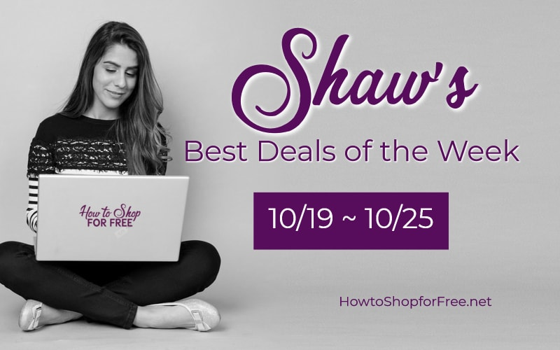 Best Deals of the Week at Shaw's Starting Friday 10/19!