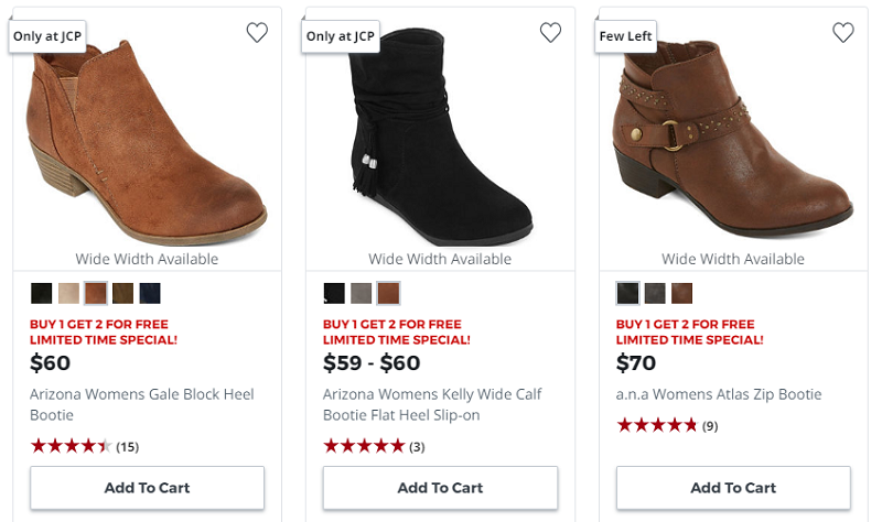 Buy 1 Pair Of Boots Get 2 for FREE!