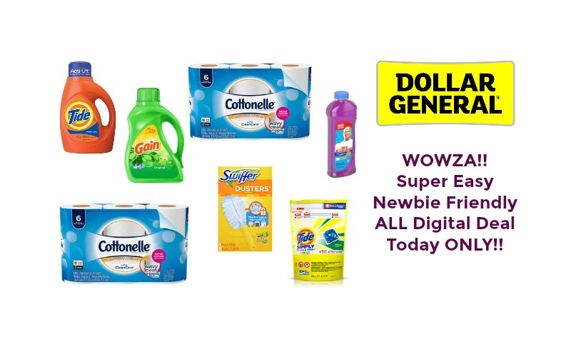 WOWZA!! Super Easy Newbie Friendly ALL Digital Deal at Dollar General ~ Today ONLY!!