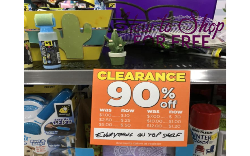 90% Off Summer Clearance!