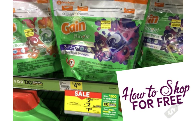 Gain Flings Only $1.95!