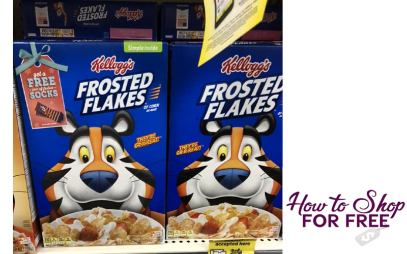 Kellogg's Cereal Only $1.00!