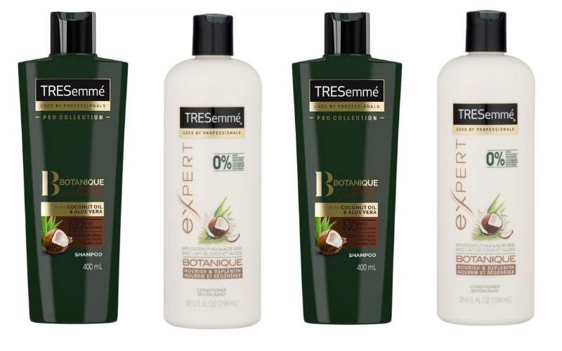 TRESemme' Botanique Shampoo or Conditioner Only $1.25!