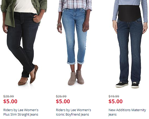 Clearance Jeans Starting at $5 (Reg. $20+)